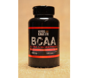 BCAA - 120 Cápsulas de 3.000 Mg - King Earth